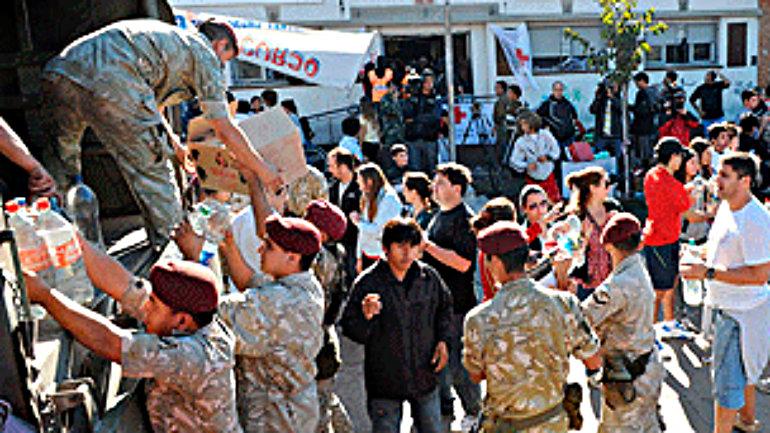 El Ejército comenzó a realizar tareas sociales junto con militantes del kirchnerismo en 2013.