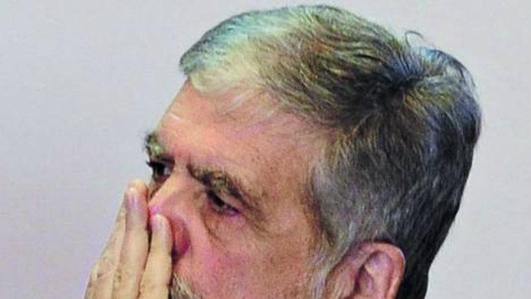 Solo. Julio De Vido no pasa su mejor momento político. /MARCELO CARROLL