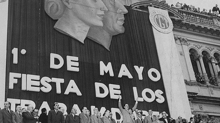 Países latinoamericanos como Argentina tienen una fuerte tradición sindical.
