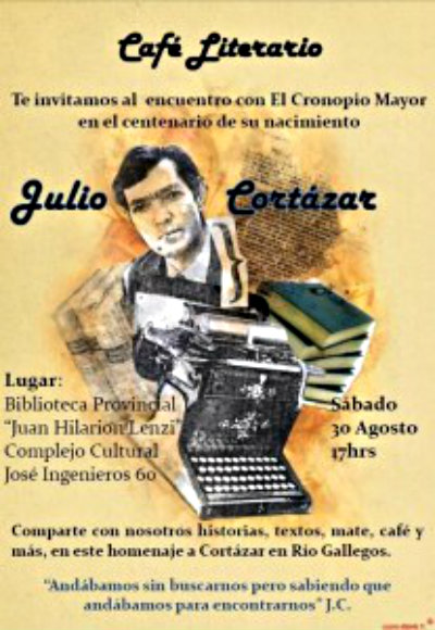 Afiche de Estela Velasco.