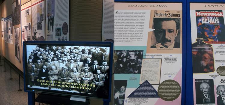 Imágenes de la muestra organizada por la Sociedad Hebraica Argentina por el 90° aniversario de la visita de Einsten. Junto a la Universidad de Buenos Aires, organizó la llegada del científico alemán al país.