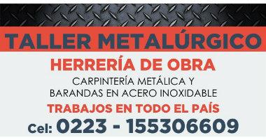 taller de metalurgia