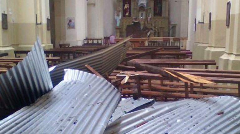 Consecuencias del temporal en Córdoba
