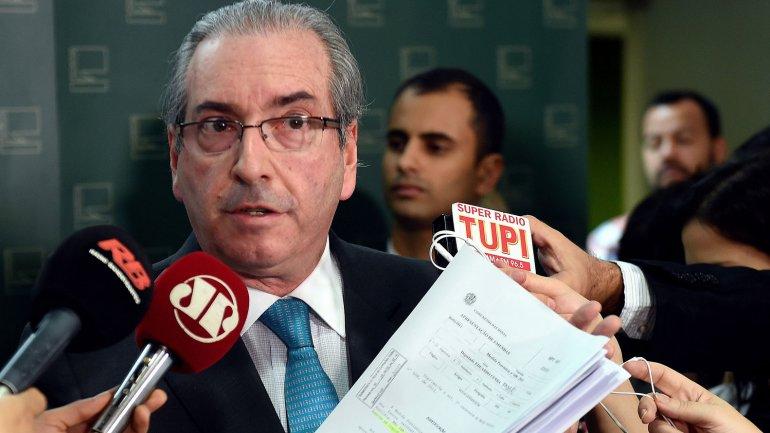 Eduardo Cunha autorizó el proceso de juicio político contra Dilma Rousseff