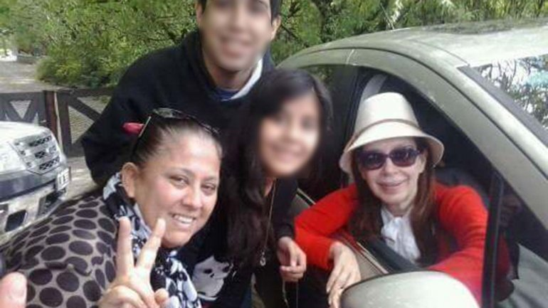 Cristina Kirchner descansa en Santa Cruz pero ya comenzó a mostrarse con militantes