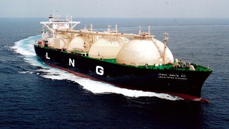 Barco de Gas Natural Licuado