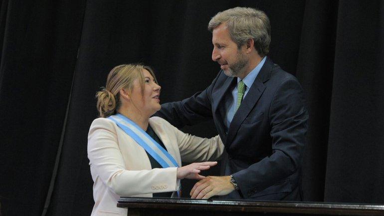 Rosana Bertone mantiene una relación de diálogo con el Poder Ejecutivo a través de Rogelio Frigerio.
