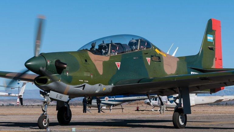 El avión Tucano es de entrenamiento, no tiene armamento