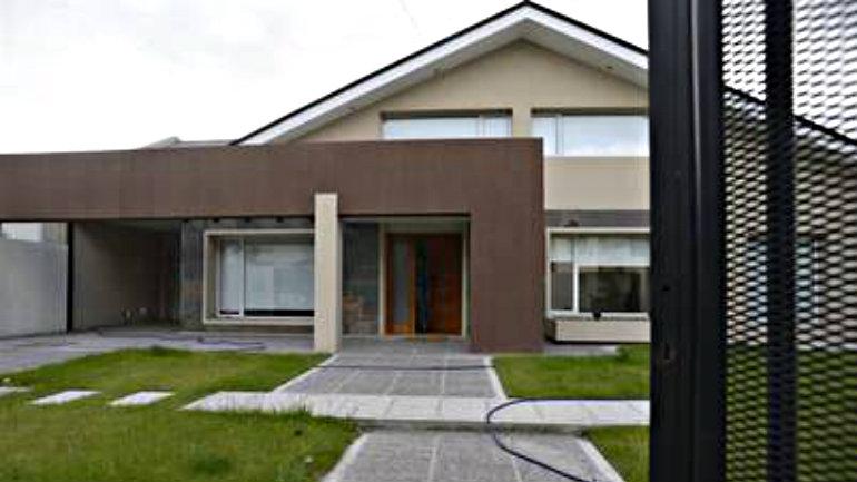 La casa más nueva de los Báez, vive allí Melina. Foto Opi Santa Cruz
