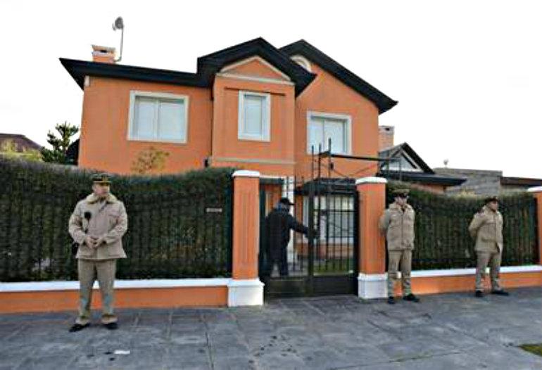 La casa de Martín una de las más grandes. Foto Opi Santa Cruz.
