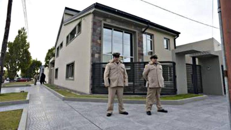 La casa de Leandro Báez. Foto Opi Santa Cruz