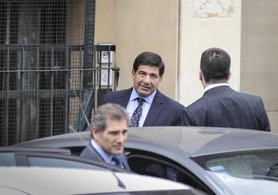 Ricardo Echegaray en Tribunales.