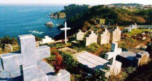 Cementerio simbólico de Las Cruces en Talcahuano, Chile, el más antiguo de todos los que existen. Foto: BERTA ZIEBRECHT