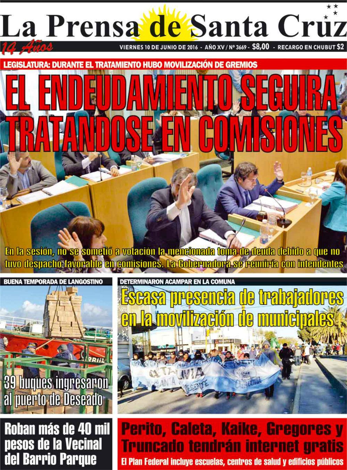La Prensa De STA CRUZ