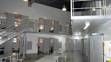 Cada módulo del penal de Ezeiza está dividido en pabellones, que tienen celdas individuales.