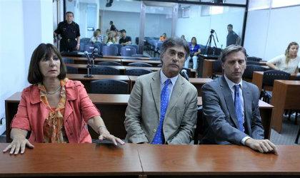 Felisa Miceli, cuando la condenaron, en 2012, a cuatro años de prisión por la bolsa con dinero. Foto: Ricardo Pristupluk