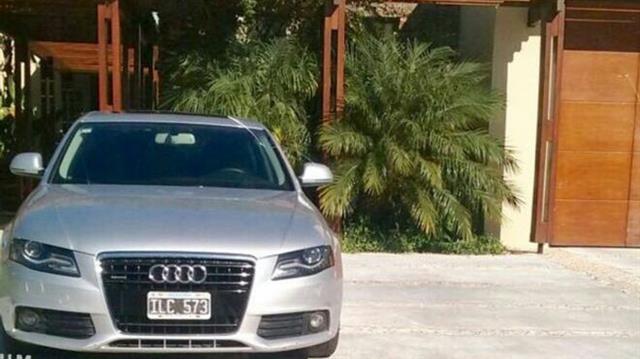 El Audi A4, chapa ILC573 que manejan Gentili y Andino desde hace meses.