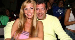 Con su ex, Claudio Minnicelli